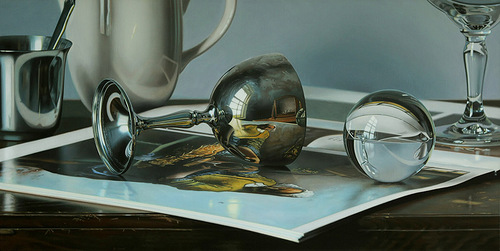 Hyperrealistic painting by Canadian artist Jason de Graaf