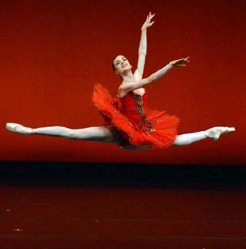 Beautiful American ballerina Joy Womack