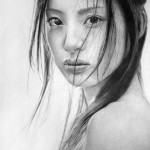 Realistic portraits drawn with pencil by British based artist Ken Lee