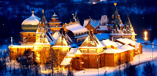 Russian Wooden Palace built without a nail