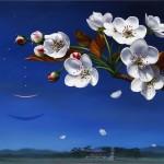 painting by contemporary Korean artist Hwang Seong Je