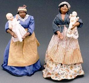 Mammy dolls. Image from Ferris State Museum of Jim Crow memorablia