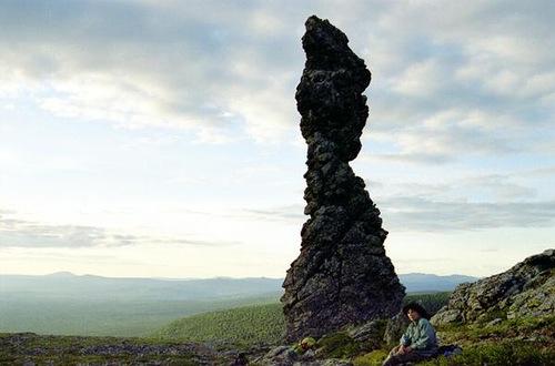 Manpupuner rock formations in Pechora-Ilych Nature Reserve, Komi Republic, Russia
