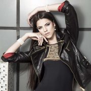 Model and designer Karina Zhironkina