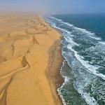 Namib Desert and the Atlantic Ocean, Namibia