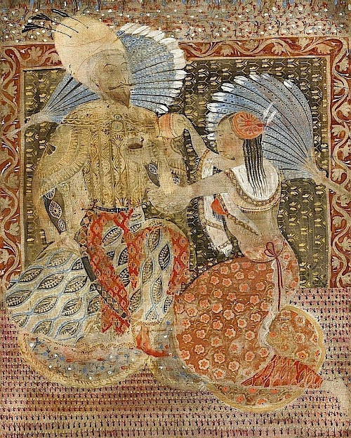 Painting by Merab Abramishvili