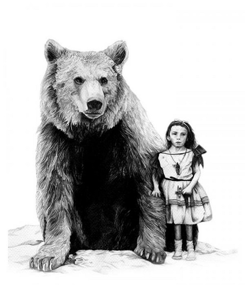 Pencil drawings by Amy Dover