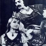 Russian actor Mikhail Boyarsky and Larissa Luppian, Elizaveta's parents