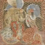 Shah Abbas. Painting by Georgian artist Merab Abramishvili 7