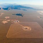 Solar Power Plant, Mojave Desert, California, USA