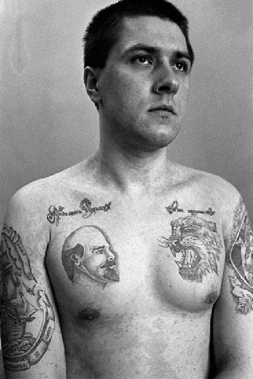 Russian Criminals Tattoo