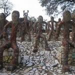 The Rock Garden of Chandigarh in India