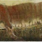 Tiger. Painting by Georgian artist Merab Abramishvili