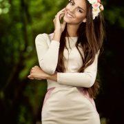 Ukrainian beauty Karina Zhironkina