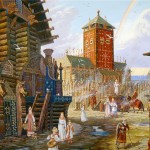 Vedic Rus in painting by Russian artist Vsevolod Ivanov