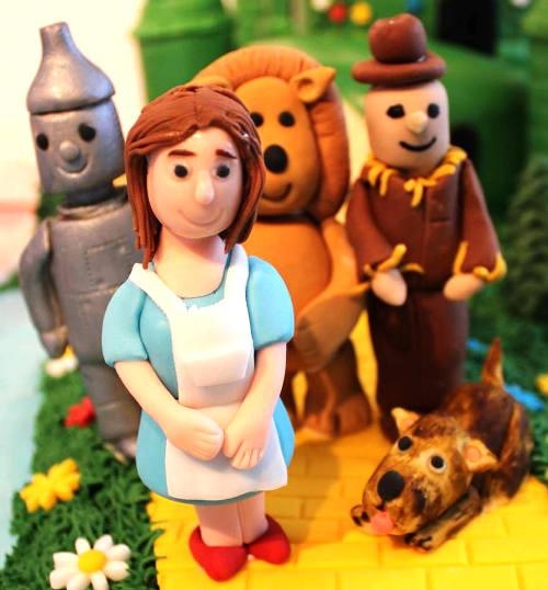 Wizard of Oz birthday cake. Paul's Creative Cakes