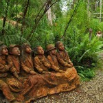 Wonderful Sculpture Garden by Australia based artist Bruno Torfs