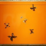 Work Togetherness Damien Hirst presented at auction Sotheby's in London.