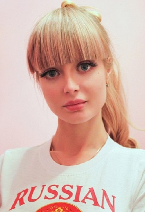 Barbie girl from Moscow Angelica Kenova