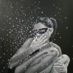 Hyperrealistic painting by Brazilian artist Marta Penter
