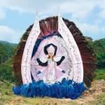 Stunning fancy costume of Samba Queen, made in Posusje de Caldas