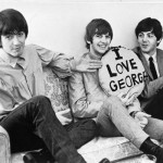 love George. George Harrison, Ringo Starr, Paul McCartney, 1964