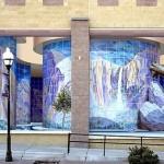 3D mural by John Pugh