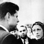 Maya Plisetskaya with J.F. Kennedy