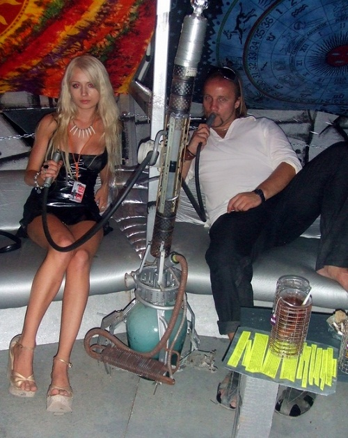 Valeria Lukyanova and Dmitry Shkrabov august 2007