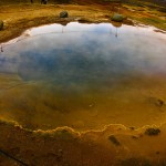 Silfra lake. Þingvellir National Park