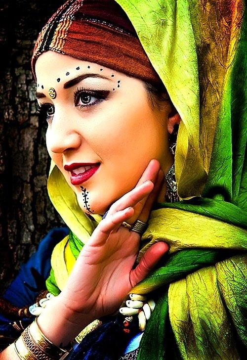 Ethnic Photography Women of the East