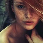 Beautiful female portraits by Lena Dunaeva, Moscow photographer