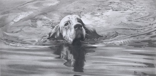Pencil drawing by Denis Chernov