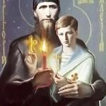 Saint Rasputin with Prince Alexey