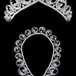 Also worn as a necklace, the Ocean Tiara