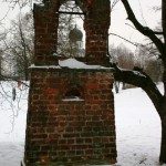 Place of the first burial of Grigory Efimovich Rasputin
