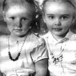 Two beautiful daughters Mariya and Yekaterina Putina