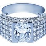 Bridal ring. Korloff