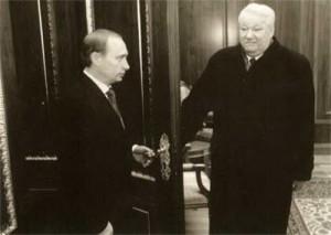 The first Russian president leaves the Kremlin. December 31, 1999.