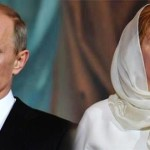 "Vladimir Putin and Lyudmila Putina announced that their marriage is over. This was after they reported being visited together on the ""Esmeralda"" at the State Kremlin Palace (update - June 7, 2013)"