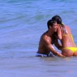 Cristiano Ronaldo and Irina Shayk seen on holiday together