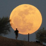 The biggest and brightest full moon of the year