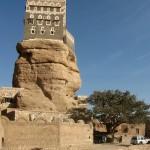 Unique Al Hajjara town in Al Bayda Governorate, Yemen