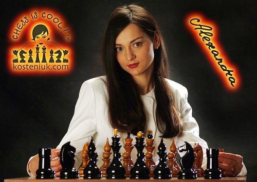 Aleksandra Kosteniuk chess grandmaster and model