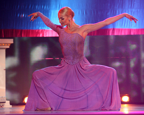 Russian ballerina Anastasia Volochkova