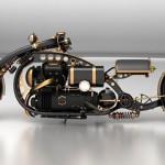 "Steampunk Chopper ""Black Widow"""