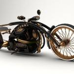 Motorcycle by Mikhail Smolyanov