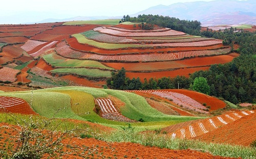 Dongchuan a paradise for photographers the Wumeng Mountainous area, China