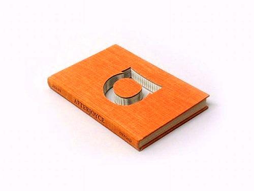 Book Sculpture by American artist Donald Lipski