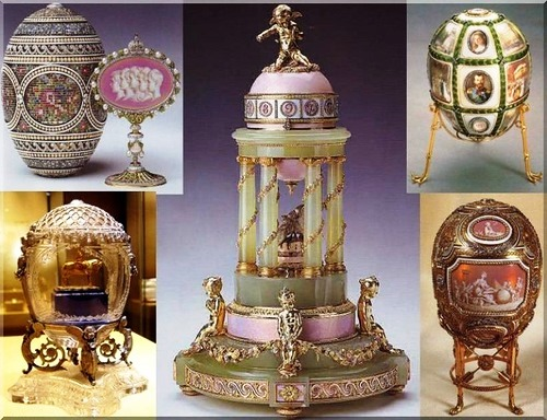 Carl Faberge jewellery masterpieces